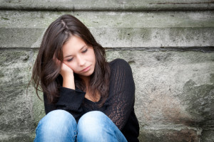 femme.seule.déprimée